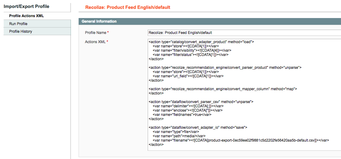 Magento Tutorial: Export complete image URLs and category names with a custom Dataflow Mapper